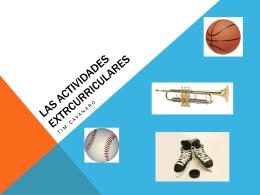 Las actividades extrcurriculares - CMHS-FL