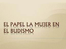 EL PAPEL DEL HOMBRE Y LA MUJER EN EL BUDISMO