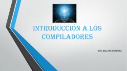 introducción a los compiladores