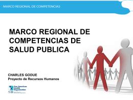 Las competencias de los Recursos Humanos en Salud Pública