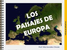europa: un continente pequeño