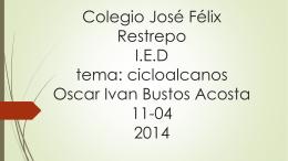 Colegio José Félix Restrepo I.E.D tema