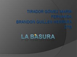 Tirador Gómez María Fernanda Brandon Guillen