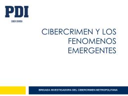 Cibercrimen y Fenomenos Emergentes