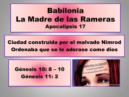 5. la gran ramera - Iglesia Cristiana La Serena
