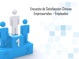 Evaluación Clínica Empresarial Trabajadores