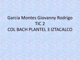 García Montes Giovanny Rodrigo