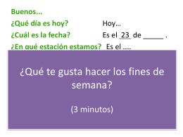 El Futuro en español