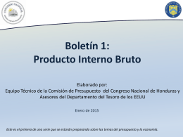 boletin 1- producto interno bruto