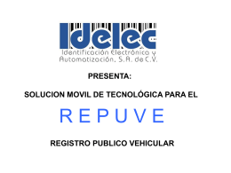 REPUVE MOVIL IDELEC