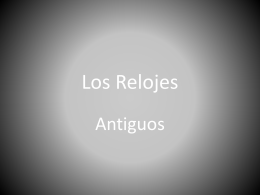 Los Relojes - 2010-UESJLS