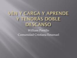 Slide 1 - Comunidad Cristiana Emanuel