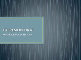 EXPRESIÓN ORAL - WordPress.com