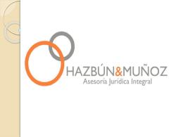 Presentación Estudio Juridico H&M