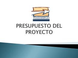 PPT Talleres Aspectos Presupuestales