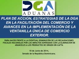 Proyecto del Operador Económico Autorizado (OEA)