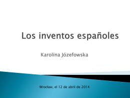 Los inventos espanoles