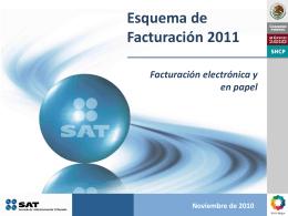 Esquema de Facturación Electrónica 2011