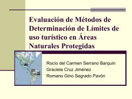 Evaluación de Métodos de Determinación de Límites