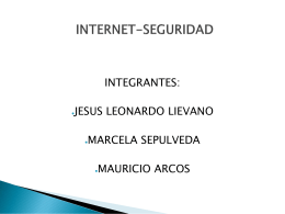 INTERNET-SEGURIDAD