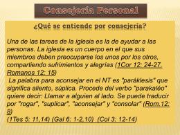 Consejería Personal.REVISA2