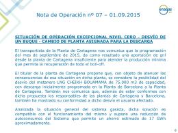 Nuevo Nota de Operación nº 7 - Septiembre 2015 (PPTX