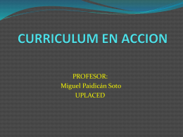 concepto de curriculum MIGUEL