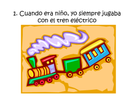 1. El tren eléctrico