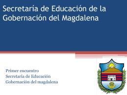 Presentación de PowerPoint - Secretaría de Educación del
