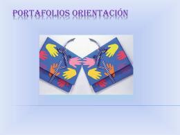 PORTAFOLIOS ORIENTACIÓN