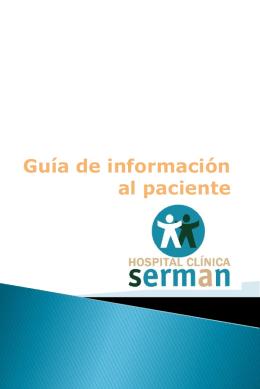 Guía de información al paciente
