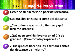 El Juego de los Skittles