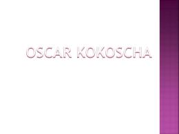 3 Oskar Kokoscha - Clases de Introducción a las Artes