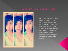 Sandra Alicia Sánchez Rojas