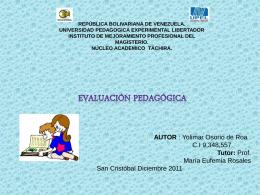 Presentación de PowerPoint - evaluacionpsicopedagogica