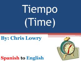 Tiempo (Time)