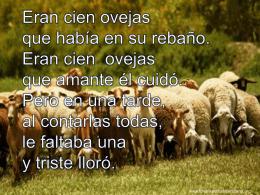 Eran cien ovejas - Iglesia Evangélica Ciudad Meridiana