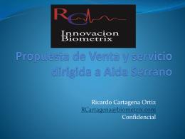 Propuesta de Venta y servicio dirigida a Aida Serrano