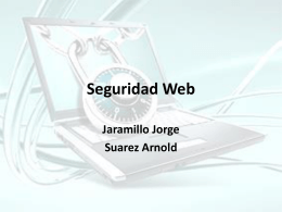Seguridad Web - WordPress.com