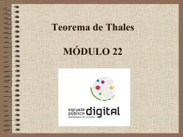 Actividad 1-Teorema de Thales