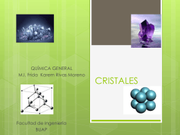 CRISTALES - WordPress.com