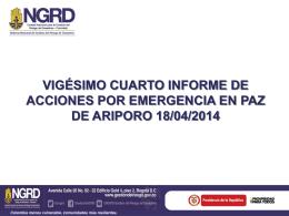 REPORTE DE PERSONAL Y RECURSOS EN TERRENO