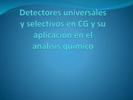 Detectores más comunes (2)