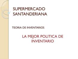 SUPERMERCADO SANTANDERIANA (136,4