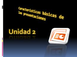 Características básicas de las presentaciones - Wiki-de-Tercero-C