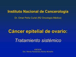 Instituto Nacional de Cancerología Dr. Omar Peña Curiel (R2