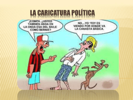 La caricatura política