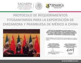 protocolo de requerimientos fitosanitarios