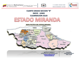 Proyecto Estado Miranda