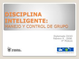 Disciplina inteligente, Manejo y control de Grupo